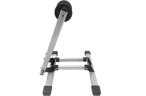"""MaxxHaul 80717 Foldable Floor Bike Stands Fits 20""""-29"""" Sports Bicycles"""