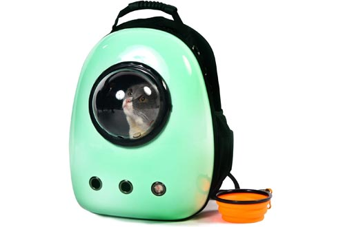 Scurrty Xpect Cat Carrier Bubble Backpacks Small Dog Space Capsule Knapsack Pet Travel Bag Waterproof Breathable