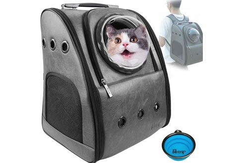 PETRIP Cat Carrier Cat Backpacks Carrier for Large Cats 24 lbs Dog Backpacks Carrier Dog Travel Bag Pet Backpacks Carrier for Medium Small Cat Dogs Carrier for Hiking Airline Approved Pet Carrier