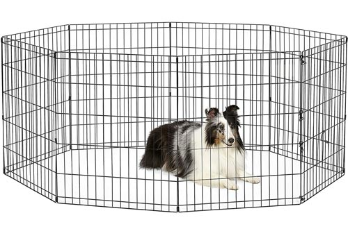 New World Pet Products Foldable Metal Exercise Pens & Pet Playpen
