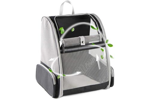 Texsens Innovative Traveler Bubble Backpacks Pet Carriers for Cats and Dogs