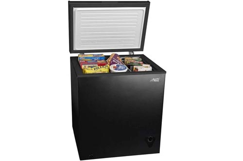 5 cu ft Chest Freezers for Your House, Garage, Basement, Apartment, Kitchen, Cabin, Lake House, Timeshare, or Business