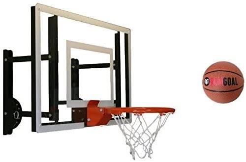 RAMgoal Durable Adjustable Indoor Mini Basketball Hoops and Ball