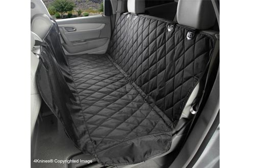 4Knines Dog Seat Covers with Hammock for Cars, Trucks and SUVs - Heavy Duty, Non Slip, Waterproof - USA Based