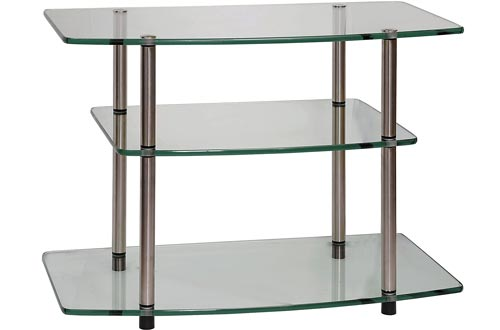 Convenience Concepts Designs2Go Classic Glass TV Stands, Glass