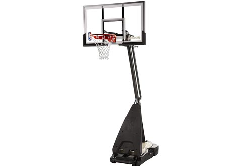 "Spalding Ultimate Hybrid 54"" Acrylic Portable Basketball Hoops"