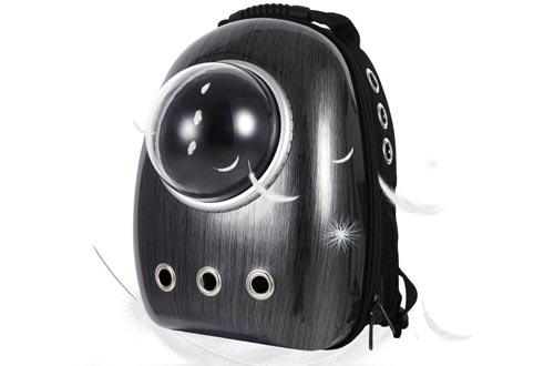 LEMONDA Portable Pet Travel Carrier,Space Capsule Pet Cat Bubble Backpacks,Waterproof Traveler Knapsack for Cat and Small Dog Mutil Colors to Choose