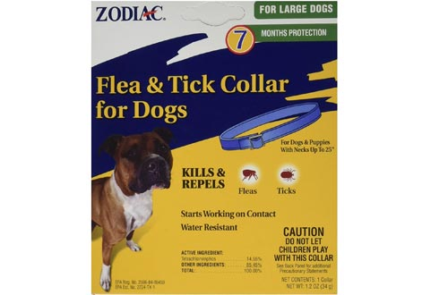 Zodiac Flea and Tick Collars for Large Dogs