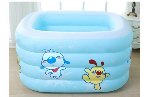 QIYUE Inflatable Swimming Pool Hot Tubs Bathtubs Inflated Tubs Folding Durable Adult Bath Tubs