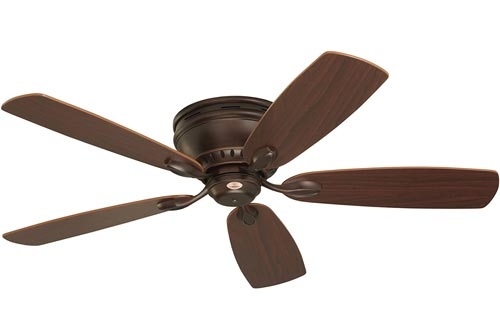 Emerson Ceiling Fans CF905VNB Prima Snugger 52-Inch Low Profile Ceiling Fans With Wall Control, Light Kit Adaptable, Venetian Bronze Finish