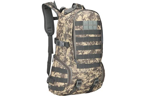 JORCOKA Tactical Military Assault Molle Sports Bags Mountaineering Trekking Camouflage Backpacks Hunting Camping Survival Bag