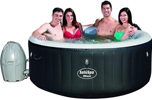 Bestway Hot Tubs, Miami (4-person), Black
