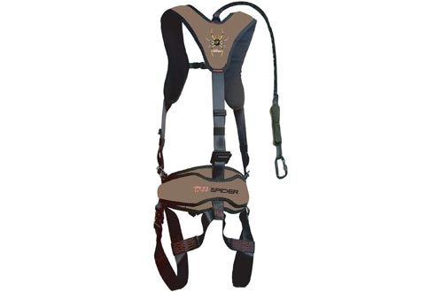 TREE SPIDER 1007230 Venom Harnesses-Vest-300lbs Max Capacity