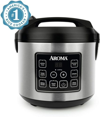Aroma Housewares 20 Cup Cooked Digital Rice Cooker