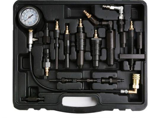 WINTOOLS Compatible for 1000 Psi Diesel Engine Compression Pressure Tester for Ford Cummins NAVISTAR Detroit