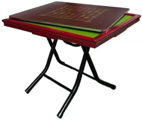 Mahjong Table Mah Jong Table Fold, Portable, Easy, Removable, Save Space, 4 Drawer, Free Installation 35x35x29.5 Inches Dinning Table Dual Use (Size : 909075 cm)