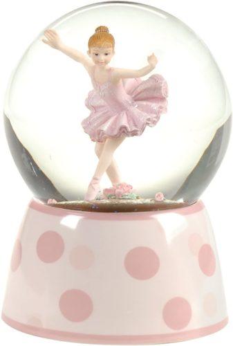 Ballet-Gifts-Ballerina-Musical-Glitterdome-100MM-5.75-inch