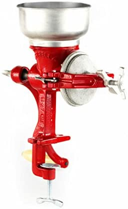 Cast-Iron-Manual-Crank-Corn-Grain-Grinder-14-Tall-5-Hopper-1