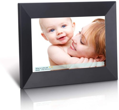 1 / 1 – Dhwazz Digital Photo Frame, 8 Inch WiFi 16GB IPS HD Electronic Picture Frames with LCD Touch Screen, Share Moments Instantly via Mobile APP, Support Slideshow, USB and SD Card, Wall-Mountable .jpg