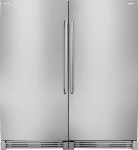 Electrolux 2-Piece Stainless Steel Refrigerator Set