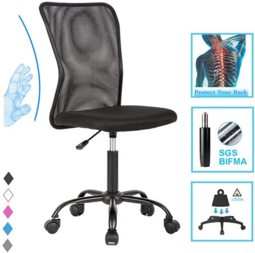 Ergonomic Office Chair Comfortable Desk Chair Mesh - Gray