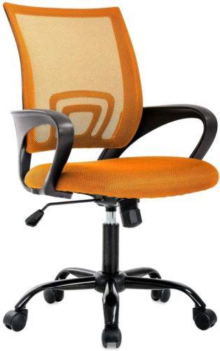 Ergonomic Office Chair Desk Chair Mesh Computer Chair, Orange