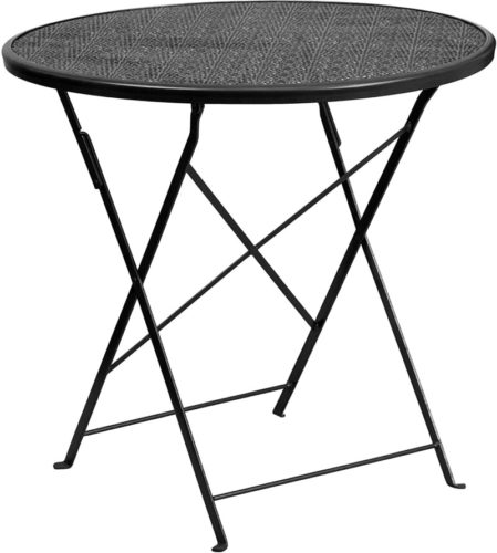 folding outdoor side table