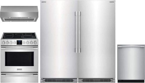 Frigidaire Professional 5 Piece Kitchen Appliances Package
