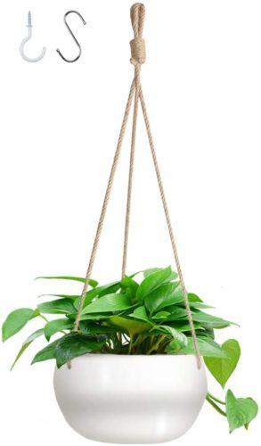 large hanging planter