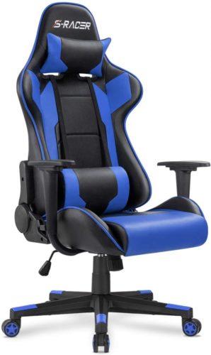 Homall Gaming Chair (Blue)