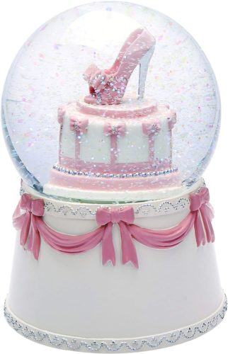 J-JHOUSELIFESTYLE-Musical-Snow-Globes-for-Girls-High-Heel-Rotating-as-Music-Plays-Perfect-Snow-Globe-Music-Boxes-for-Women-Granddaughters-Christmas-Valentines-Day-Birthday