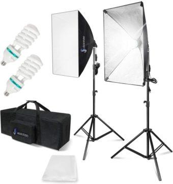 Julius Studio Softbox Lighting Kits