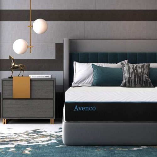 King Mattress, Avenco 10 Inch King Memory Foam Mattress