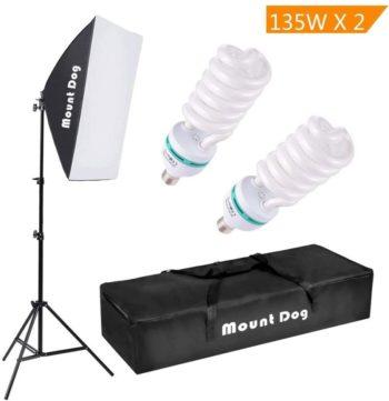 MOUNTDOG Softbox Lighting Kits