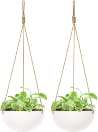 hanging planter with drainage