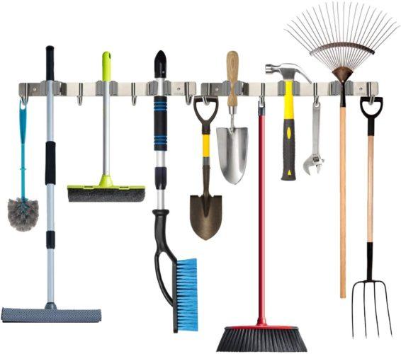 Piyl Broom Mop Holder
