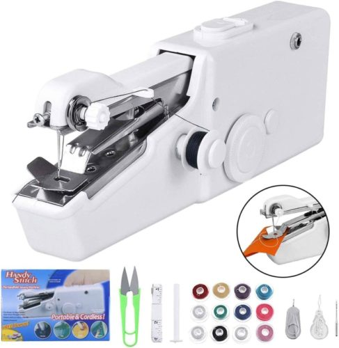 Dual Speed Portable Mending Machine   Durable for Beginner Fabric Sewing Practical & Gifts