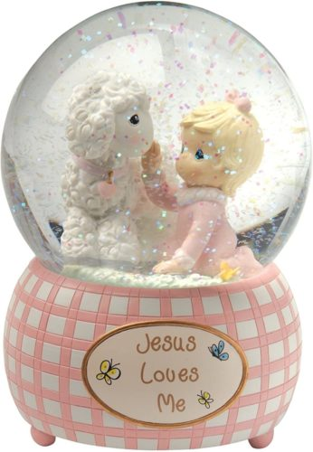 Precious-Moments-Jesus-Loves-Me-Snow-Globe-Resin-Girl-102403