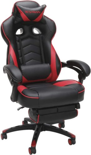 RESPAWN 110 Racing Style in Red (RSP-110-RED)