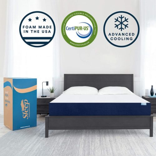 Sleep Innovations Marley 10-inch Cooling Gel Memory Foam Mattress