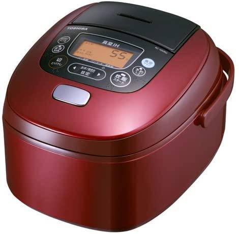 TOSHIBA vacuum pressure IH rice cooker RC-10VRG-R (Japan Import)