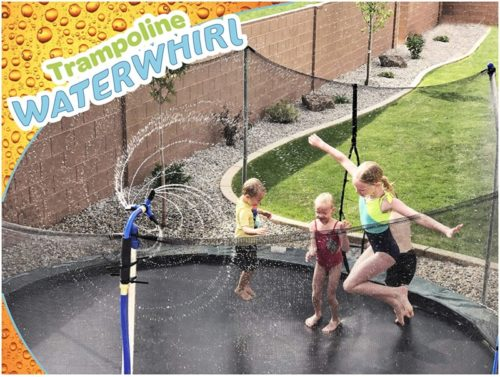 ThrillZoo-Trampoline-WaterWhirl-Kids-Fun-Summer-Outdoor-Water-Park-Game-Sprinkler-Waterpark-Toys-for-Boys-Girls-and-Adults-Accessories-Included-Toy-Attaches-on-Safety-Net-Pole