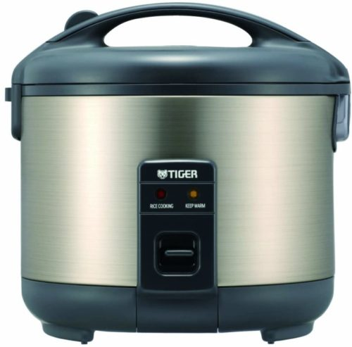 Tiger JNP-S10U-HU 5.5-Cup (Uncooked), Stainless Steel Gray