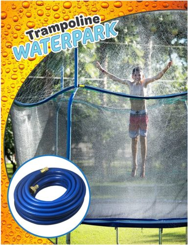 Trampoline-Waterpark-Heavy-Duty-Sprinkler-Hose-Fun-Summer-Outdoor-Water-Game-Toys-Accessories-Best-for-Boys-Girls-and-Adults-Made-to-Attach-On-Safety-Net-Enclosure-Tool-Free