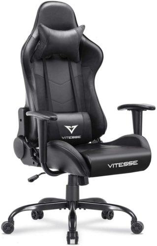 Vitesse Gaming Chair (Black)