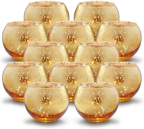 Volens-Round-Gold-Votive-Candle-Holders-Bulk-Mercury-Glass-Tealight-Candle-Holder-Set-of-12-for-Wedding-Decor-and-Home-Decor