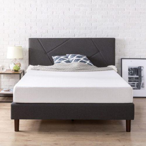 zinus wood bed frame