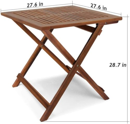 Multifunctional and Portable I Indoor or Outdoor End Table
