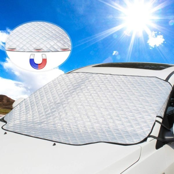 1. Car Windshield Sun Cover, UBEGOOD Sunshade for Windshield
