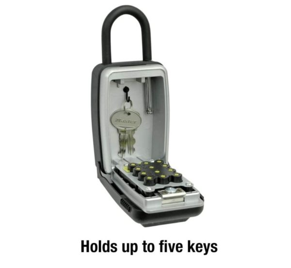 1. Master Lock 5422D Set Your Own Combination Portable Push Button Lock Box